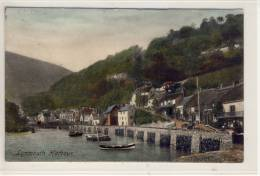 LYNMOUTH Harbour,   Used 1907 - Lynmouth & Lynton