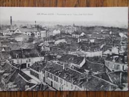10 - ARCIS Sur AUBE - Panorama De La Ville , Côté Sud Ouest. (Usine) - Arcis Sur Aube