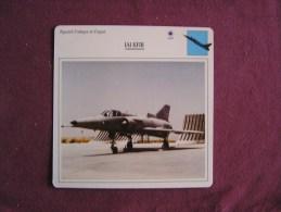 IAI KFIR        FICHE AVION Avec Description  Aircraft Aviation - Avions