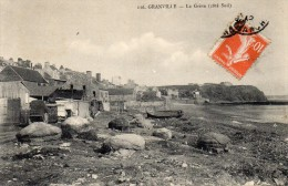 CPA  -  GRANVILLE (50)  La Grève  (coté Sud ) - Granville