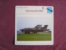 BRITISH AEROSPACE Buccaneer     FICHE AVION Avec Description  Aircraft Aviation - Avions