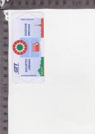 CO-2775 TORINO BIGLIETTO TRAM AUTOBUS EDIZIONE SPECIALE 150'' ANNI UNITA D'ITALIA COMMEMORATIVO - Europa