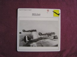 BREDA Ba 64    FICHE AVION Avec Description  Aircraft Aviation - Avions