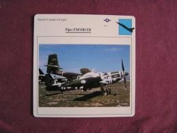 PIPER Enforcer     FICHE AVION Avec Description  Aircraft Aviation - Vliegtuigen