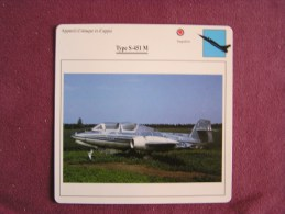 TYPE S-451 M    FICHE AVION Avec Description  Aircraft Aviation - Vliegtuigen