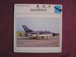 PANAVIA Tornado IDS    FICHE AVION Avec Description  Aircraft Aviation - Vliegtuigen