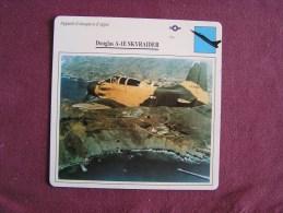 DOUGLAS A-1E Skyraider    FICHE AVION Avec Description  Aircraft Aviation - Vliegtuigen