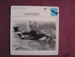 CONVAIR 48 Charger    FICHE AVION Avec Description  Aircraft Aviation - Vliegtuigen