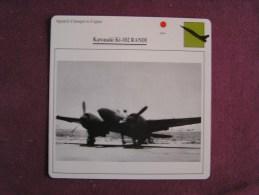 KAWASAKI Ki-102 Randi   FICHE AVION Avec Description  Aircraft Aviation - Vliegtuigen
