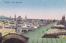 Syrie - Damas Damascus - Vue Générale - Editeur Sarrafian Bros. Beirut Syria