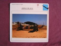 AERMACCHI AM 3C  FICHE AVION Avec Description  Aircraft Aviation - Vliegtuigen