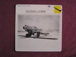CURTISS Model 59 A-8 Shrike   FICHE AVION Avec Description  Aircraft Aviation - Avions