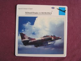 MCDONNELL DOUGLAS A-4 Skyhawk II   FICHE AVION Avec Description  Aircraft Aviation - Avions