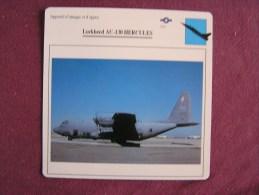 LOCKHEED A C-130 Hercules    FICHE AVION Avec Description  Aircraft Aviation - Avions