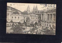 51524   Belgio,    Spa,  Les  Jardins Du  Kursaal,  VG  1920 - Spa