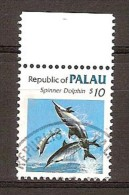 Palau  1986 Yvertn° 91 (°)  Oblitéré Used Cote 35 Euro Faune Poissons Vissen Fish - Palau