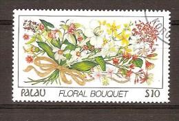 Palau  1988 Yvertn° 210 (°) Oblitéré Used Cote 28,50 Euro Flore Fleurs Bloemen Flowers - Palau