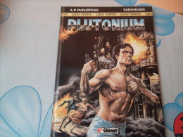 "SERGE MORAND "" PLUTONIUM "" - DUCHATEAU / SANAHUJAS - - Books, Magazines, Comics"