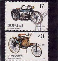 Zimbabwe 1986, Oblitérés - Used - Zimbabwe (1980-...)