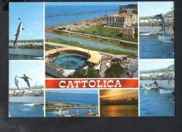 P56 CATTOLICA ( Rimini ) Multipla Con Delfini, Dauphin Dolphin - T 26 ED. HELIOS  / MULTIGRAF TERNI - Italy