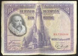 España - Spain 100 Pesetas 1928 Pick 76.a Ref 672-7 - [ 1] …-1931 : Primeros Billetes (Banco De España)