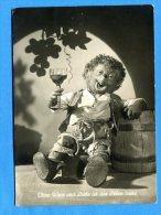 Q362, Hérisson, Vigneron, Vin, Raisin, Tonneau, Fantaisie,  GF, Circulée 1956 - Mecki