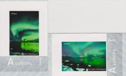 D 525) Norwegen MiNr (1859) * Sk: Meine Marke: Polarlicht In Tromsö (2 Stück) Polar Lights - Norwegen
