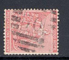 CAPE Of GOOD HOPE, Barred Numeral Postmark Nr 70 (wmk Crown CC) - Kaap De Goede Hoop (1853-1904)