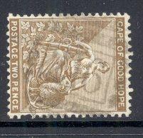 CAPE Of GOOD HOPE, Barred Numeral Postmark Nr 216 (wmk Crown CA) - Kaap De Goede Hoop (1853-1904)
