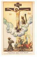 JMF17.02 /  IMAGE RELIGIEUSE / PRIERE A Ste.THERESE POUR LE SALUT DES AMES RUSSES - Santini