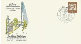 Bund Privatganzsache 1961 Hannover Nord 15 Jahre Briefmarken Sammler Verein - BRD