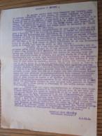 1951 Dakar Lettre à Député Giansily Né à LOZZI(Calacuccia)Corse Corsica-104/24é Régiment Infanterie Coloniale - Documents