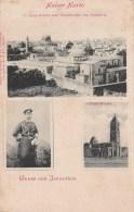 == Israel , Kaiser Karte Austria Lloyd .. 1898 - Israel