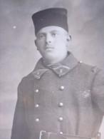 MILITARIA Militaire Zouave 8é Régiment D'infanterie Guerre 14-18 CPA En Photographie RPPC Réal Photo Post Card - Guerra 1914-18