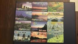 Switzerland-MULTICARDS-(set 14)-(lot 12cards)-used Card+4cards Prepiad Free - Switzerland