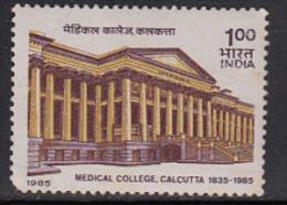 India MNH 1985, Medical College, Calcutta, Health, Medicine, As Scan - Inde