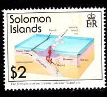 Solomon Lslands  Volcananic Islands Used VF - Solomon Islands (1978-...)