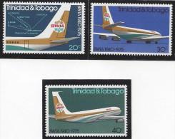 TRINIDAD & TOBAGO BWIA AIRLINES MNH 1975 - Trinidad Y Tobago (1962-...)