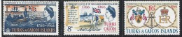 TURKS & CAICOS TIES WITH BRITAIN MNH 1966 - Turks E Caicos