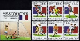 Togo World Cup Football Set Sc 1713-19 MNH 1998 - World Cup