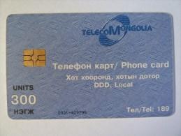 MONGOLIA - Chip - 300 Units - MON-10