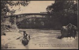 CINA (China): Yunnan - The Old Wooden Bridge Of Pouo-Hi - China