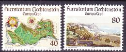 Liechtenstein - Europa (MiNr: 667/8) 1977 - Postfrisch MNH - 1976