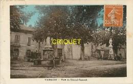 Cpa 83 Varages, Place Du Général Gassendi, Affranchie 1932 - Other Municipalities