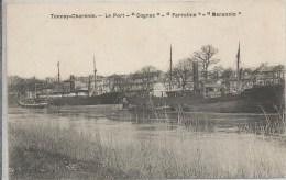 Tonnay-Charente, Le Port, Bateau: Cognac, Farraline, Merannio - Autres Communes