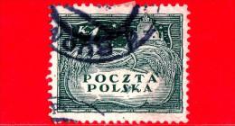 POLONIA - POLSKA - Usato - 1919 - Agricoltura - Raccolta Del Grano A Kazimierz Dolny - 1 K - Usados