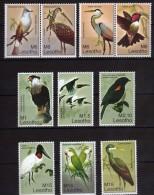 Lesotho.Birds.lot.MNH - Lesotho (1966-...)