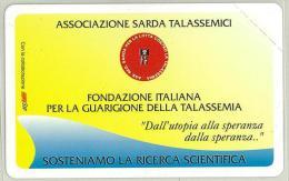 Carte Telefoniche: Associazione Sarda Talassemici  - Nuova - Omaggio  - T - POLAROID - Italie