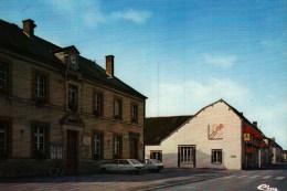 """CPSM  (51)    PLEURS -  La Mairie Et L'Hôtel Du """"Cheval Gris"""" - Andere Gemeenten"""