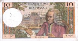 Billet (aB 3)  10 Francs 1972 B - 1962-1997 ''Francs''